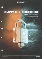 Abloy super weather proof