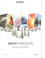 Abloy pad locks
